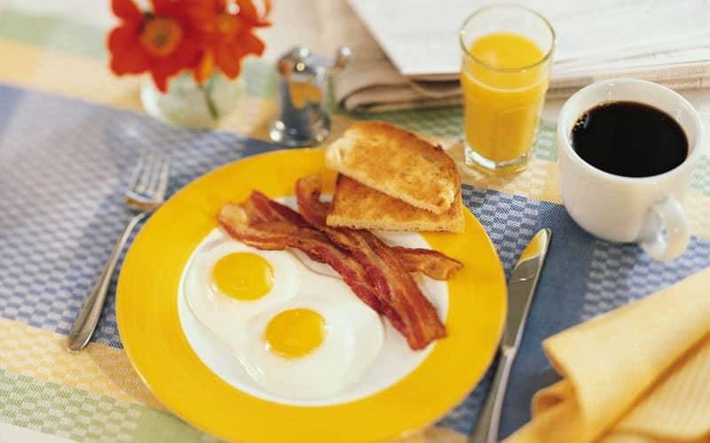 Молотый кофе и яйца на завтрак улучшают потенцию