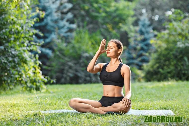 Специальная дыхательная йога для избавления от храпа