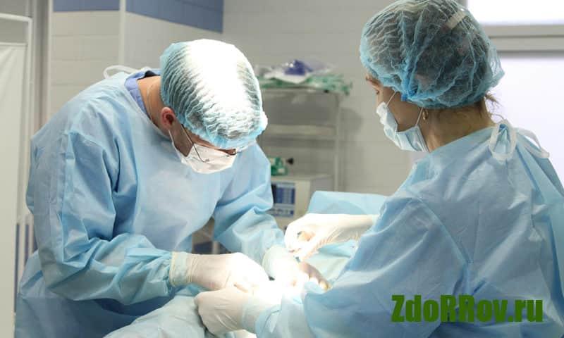 Хирургическое вмешательство для лечения простатита