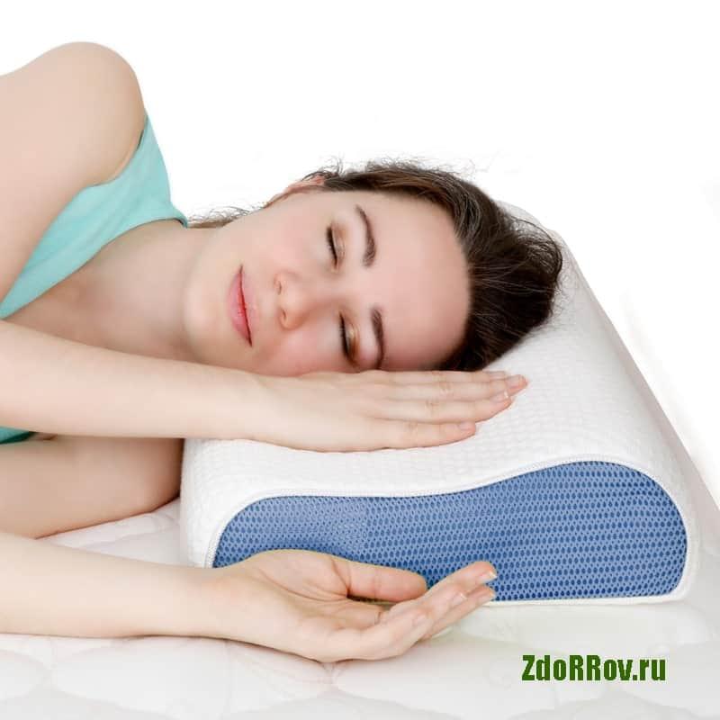 Специальная подушка от храпа