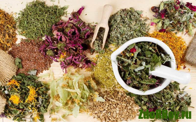 Сборы и травы от курения