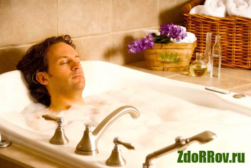 Ванны для лечения простатита