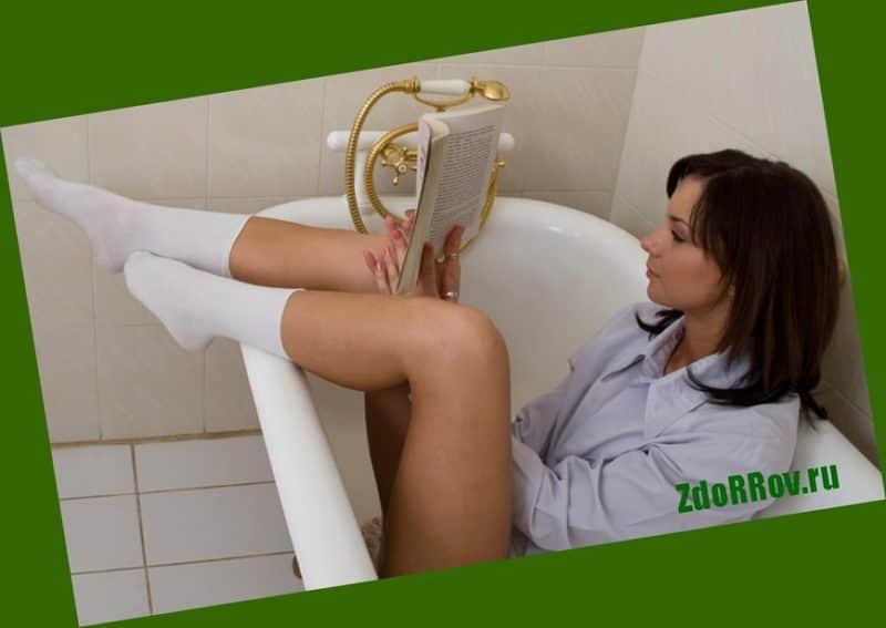 Ванночки при наружном геморрое