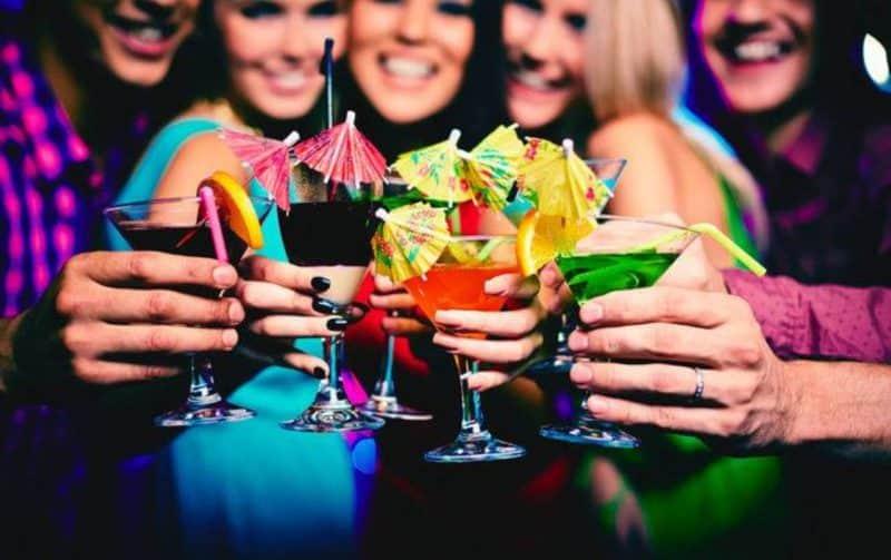 Избегайте мест, где употребляют спиртное