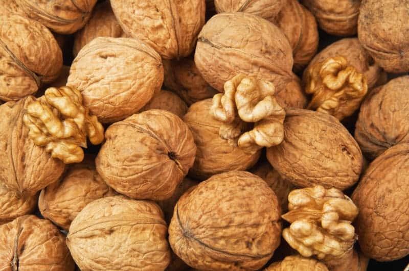 Орехи при низком давлении
