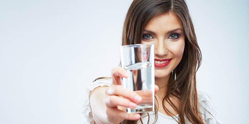Пейте большое количество воды