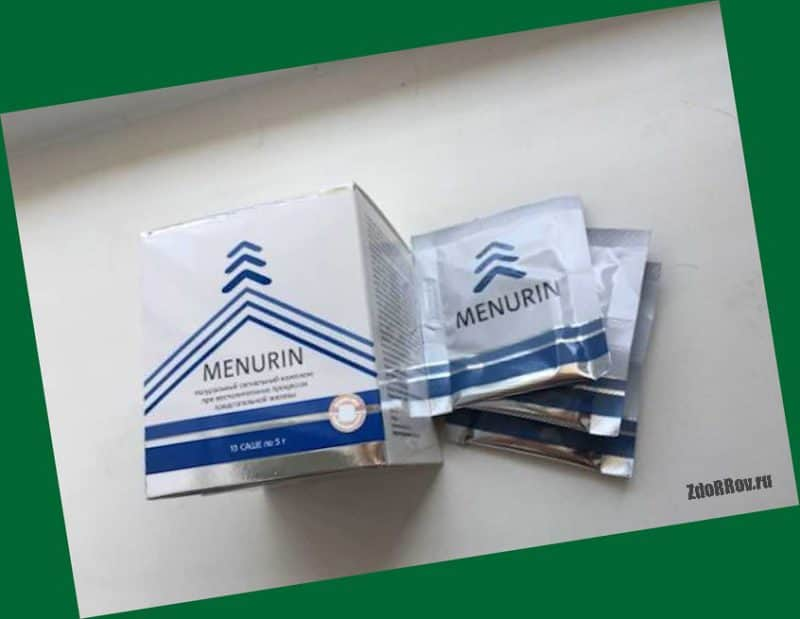 Менурин — комплекс от простатита из природных компонентов