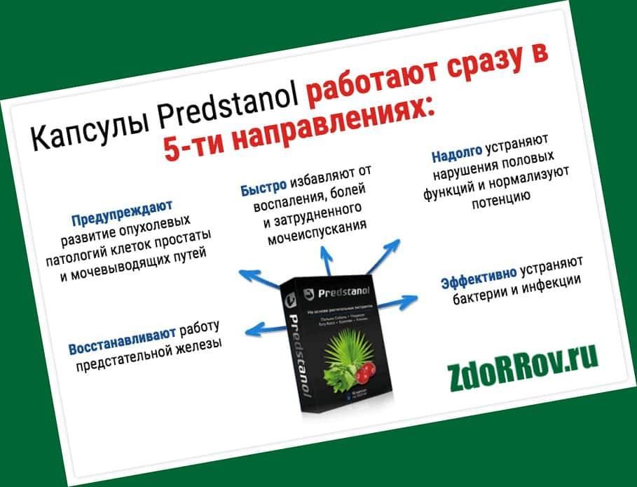 Действие препарата Predstanol