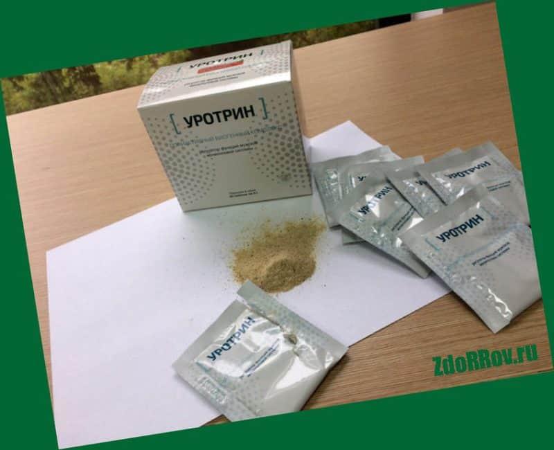 Уротрин — лекарственное средство от простатита